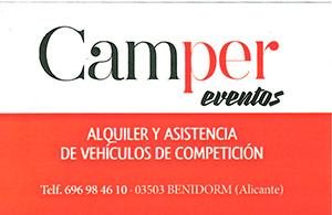 Camper Eventos Benidorm